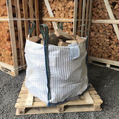 "KILN DRIED 10"" Ash Logs Builders Bag"