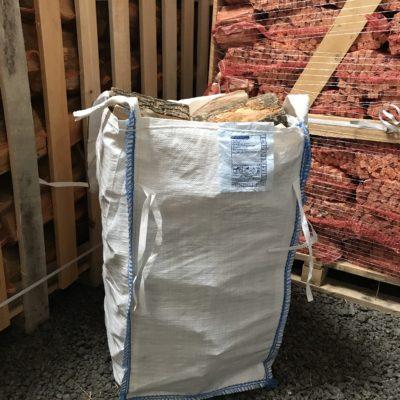 Kiln Dried Mixed hardwood logs – Barrow Bag ( Min order 2 bags )