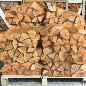 "Kiln Dried 10"" Ash Logs – 20 x 40L nets"