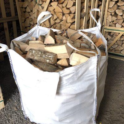 Kiln Dried Builders Bag Mixed Hardwood Logs