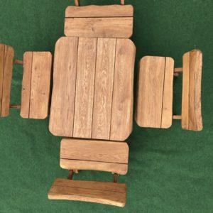 Solid Oak Garden / Kitchen / Dining Furniture