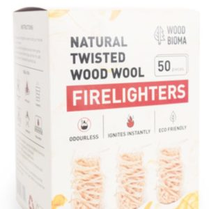 Wood Wool Firelighters ( Box of 50 )