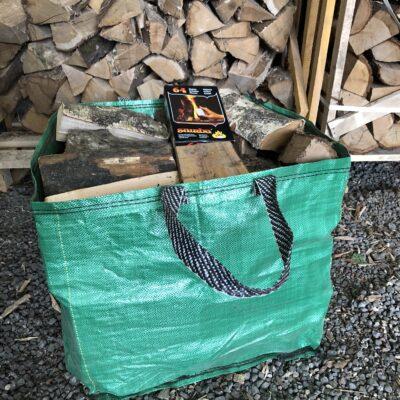 "Handy Bag Kiln Dried Mixed 10"" Hardwood Logs"
