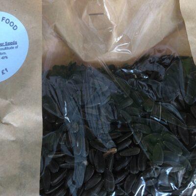 Bird Food – Black Sunflower Seeds