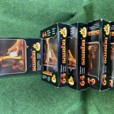 Samba Firelighters ( 64 Cubes )