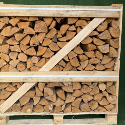 Kiln Dried Alder 10″ Logs in Crate plus a  FREE JUMBO BAG KINDLING & SAMBA FIRELIGHTERS (64)